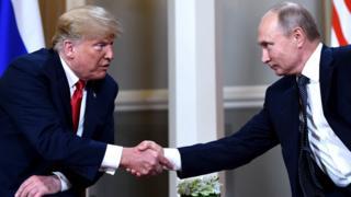 Putin na Trump bahuriye i Helsinki, umurwa mukuru wa Finlande