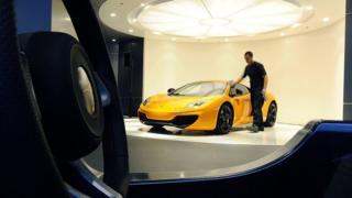 Автомоибль компании McLaren