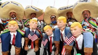 Mexicanos disfrazados