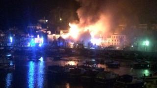 St Aubin fire