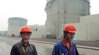 Một nhà máy điện hạt nhân ở Trung Quốc