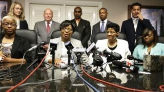 Sandra Bland's family announce legal action at a press conference