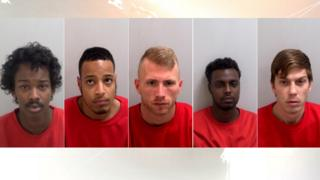 The five men jailed over Ahmed Musse's killing