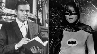 Adam West Bruce Wayne and Batman