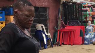 Grace Ugwu dey sell for for Abuja Nigeria