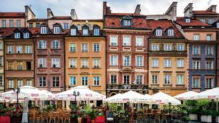 مدينة وارسو، العاصمة البولندية