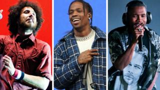 Coachella headliners Rage Against The Machine, Travis Scott and Frank Ocean