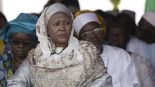 Di Gambi Vice President, Fatoumata Tambajang