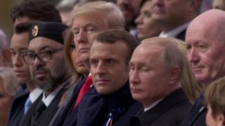 انتقاد مکرون از رشد ملیگرایی در صدمین سالگرد پایان جنگ جهانی اول