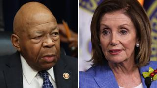Nancy Pelosi and Elijah Cummings