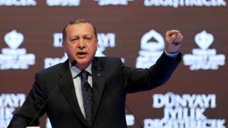 土耳其總統厄爾多安