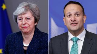 Brexit: Theresa May to meet Leo Varadkar for Brexit talks
