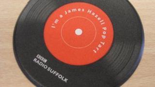 James Hazell's pop tart coaster