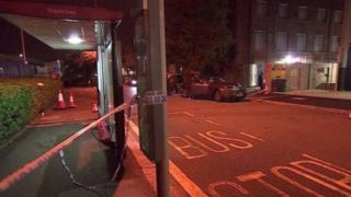 حادث التصادم وقع خارج مركز مجلس الحسيني الإسلامي