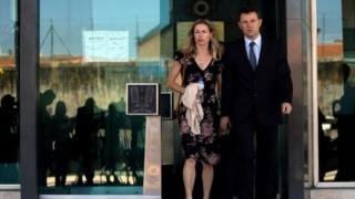 Kate and Gerry McCann in Portugal