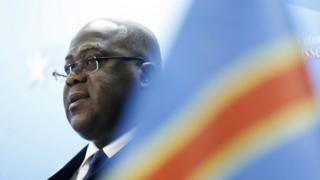Félix Tshisekedi, umukuru w'ishyaka ritavuga rumwe na leta ya Kongo rya UDPS, rivuga ko riharanira demokarasi n'imibereho myiza y'abaturage