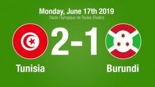 Tunisia niyo yatsinze uyu mukino