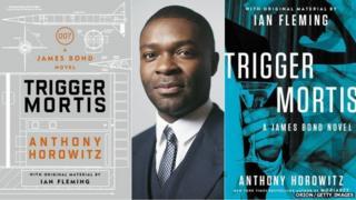 David Oyelowo between the UK and US covers of Anthony Horowitz's novel