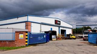 Wabtec factory in Kilmarnock