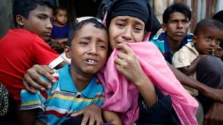 Бангладешга ўтган роҳинга қочқинлари