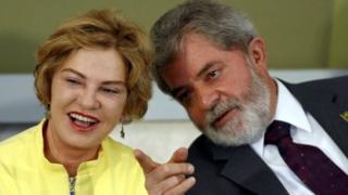 Lula na mkewe