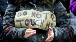 """""""No me toques"""""""
