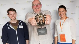 Winners at the Bafta Cyrmu games awards