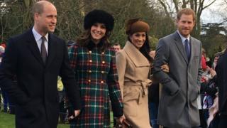 William, Kate, Meghan Markle, Harry