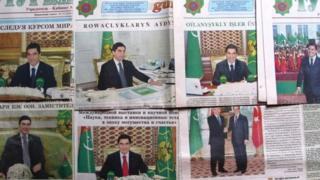 Türkmen gazeteleri