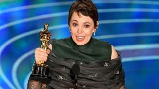 "The British actress gave a heartfelt speech, saying: ""It's genuinely quite stressful. This is hilarious. I got an Oscar!"""