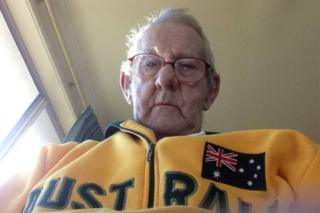 Ray Johnstone posted a photo of himself on his online ad