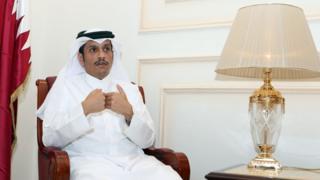 Katar Dışişleri Bakanı Şeyh Muhammed bin Abdurrahman es-Sani
