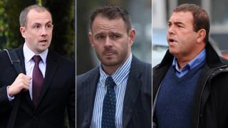 Christopher Evans, Michael Stokes a Stephen Phillips