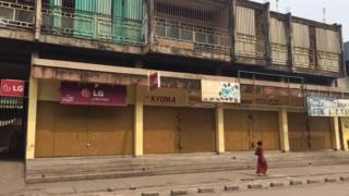 Journée ville morte respectée à Kinshasa