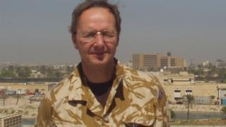 Dr Jonathan Leach in Basra, Iraq