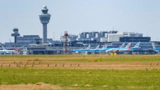 File photo of Schiphol airport