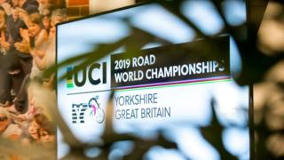 Yorkshire UCI Road World Championships logo