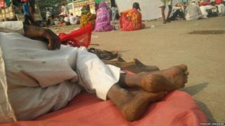 नाशिक ते मुंबई लाँग मार्चमधली काही क्षणचित्रे