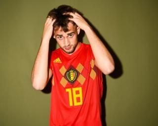 Adnan Januzaj of Belgium