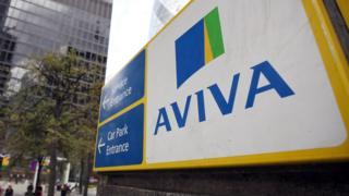 Aviva offices in London