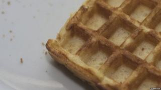 Waffles were the topic of the day at Stormont