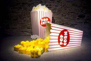 Lego popcorn