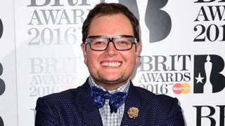 Alan Carr at the Brits