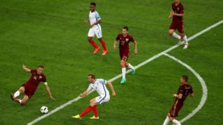 England v Russia match