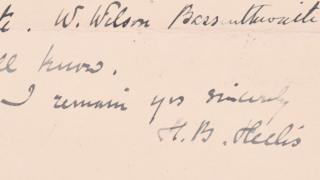 Letter written by Beatrix Potter