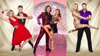 Rachel Riley and Pasha Kovalev, Seann Walsh and Katya Jones, Kristina Rihanoff and Ben Cohen