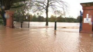 Flooded Vivary Park (taken from 2012)