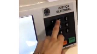 suposta fraude em urna, negada pelo TSE