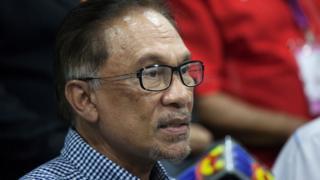 Malaysia's Anwar Ibrahim