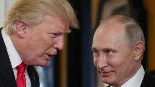 Donald Trump y Vladimir Putin.